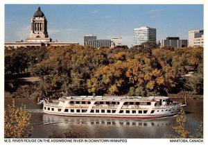 Canada M.S. River Rouge on The Assiniboine River Downtown Winnipeg