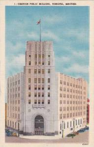 Exterior, Dominion Public Building, Winnipeg, Manitoba, Canada, 30-40s