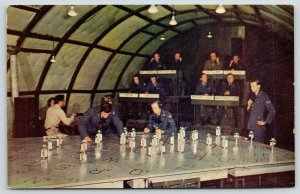 Pope Air Force Base NC~Tactical Air Control Center~Air Surveillance Table~1950s