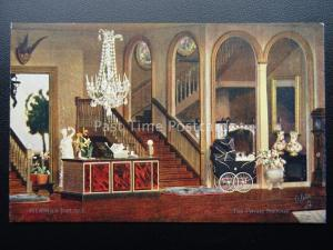 Titania's Palace THE PRIVATE STAIRCASE c1920's PC by Raphael Tuck 4522 Series II