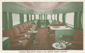 Luxurious Observation Lounge on the North Coast Limited Train, 00-10s