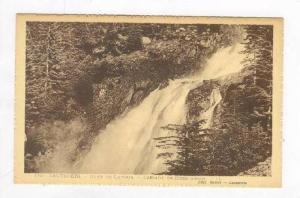Gave De Lutour, Cascade De Pisse-Arros, Cauterets (Hautes-Pyrénées), France...