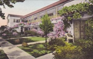 California Santa Barbara New And Distinctive Pine Crest Lodge Handcolored Alb...
