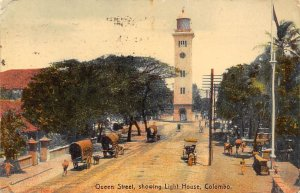 ueen street showing light house, Colombo Lighthouse PU Unknown