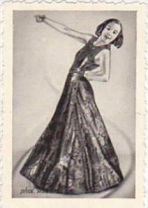 GARBATI CIGARETTE CARD FAMOUS DANCERS NO 125 PALUCCA