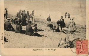 CPA AULT La Plage (807064)