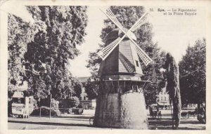 Belgium Spa Le Pigeonnier et la Place Royale Windmill