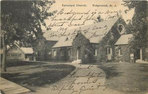 Ridgewood New Jersey~All Covered in Ivy, Episcopal Church~Remodeled House~c1915