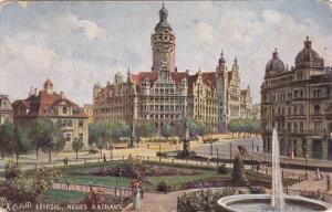LEIPZIG, Saxony, Germany, PU-1906; Neues Rathaus