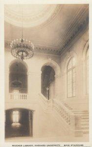 CAMBRIDGE, MA, 00-10s; Widener Library, Mn Staircase, Harvard University