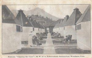 WOODMEN , Colorado , 1916 ; Patients TB Sanatorium