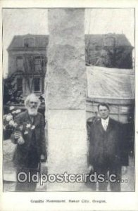 Granite Monument Baker City, OR, USA Unused