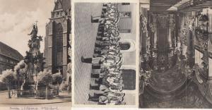Breslau Kirche Zum Namen Jesu Statue Procession 3x German Postcard s
