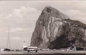 RP, Airplane, Viscount Taxying At Gibraltar, PU-1961