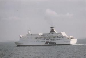 Ferry OLAU HOLLANDIA , Sherness & Flushing Service , 1982