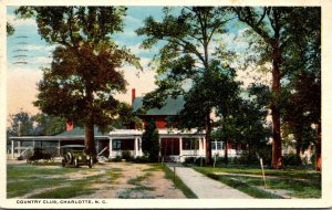 North Carolina Charlotte Country Club 1917 Curteich