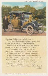 Crank up Lizzy Poem & Car , 00-10s