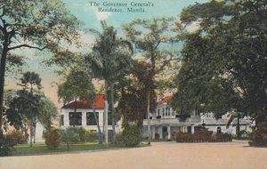 MANILA , Philippines , 00-10s ; Governor General's Residence