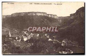 Old Postcard Baume les Messieurs General view