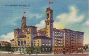 Virginia Richmond Hotel Jefferson 1940