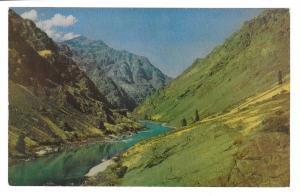 Idaho Hell's Canyon Gorge Snake River Vintage Postcard