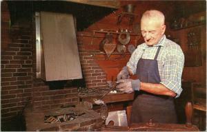 Old Sturbridge Village Massachusetts - pewterer at forge