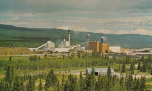 HINTON, Alberta, Canada, 40-60s; Mill, North Western Pulp & Power Ltd