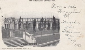 BUFFALO , New York , 1901 ; Pan-American Exposition ; Stadium