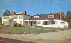 Sunapee New Hampshire~Seven Hearths Inn And Restaurant~1960 Postcard