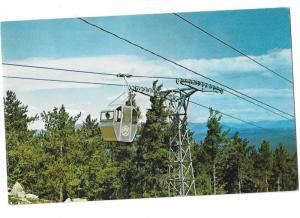 Gondola Approaching Summit of Mt. Whittier West Ossipee New Hampshire