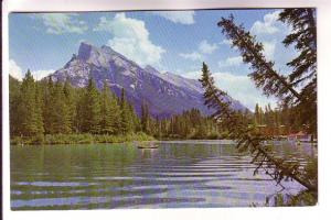 Mount Rundle, Bow River. Alberta, Photo Bruno Engler