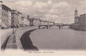 Ponte di Mezzo, Lung'Arno, Pisa, Toscana, Italy 1900-10s