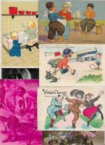 Beautiful Fantasy Women Artist Signed Mixed Postcard Lot of 20  01.15