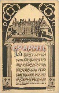 Old Postcard Ch�teau Langeais