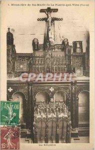 Old Postcard Monastery of St. Mary of Peter Vire Yonne Keepsakes