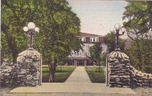 Virginia Harrisonburg Bond Memorial Gate and Approach To Massanetta Springs B...