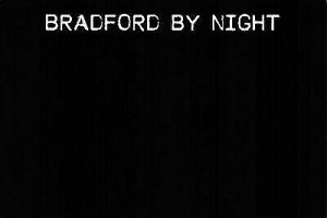 NEW Postcard, Bradford by Night, Humor, Novelty, Fun, Funny DM5
