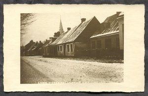 dc349 - LUND Sweden 1910s Street View. Real Photo Postcard