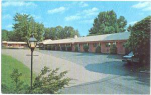 Garden Park Motel 205 Westport Ave. Norwalk Connecticut CT