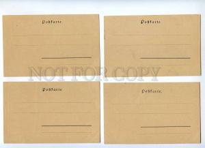 189346 Ebbe und Flut HO Set 10 card ART NOUVEAU PHILIPP KRAMER