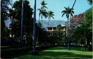 Vtg Hotel Sans Souci Port Au Prince West Indies Haiti Postcard