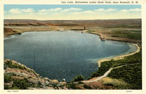 NM - Roswell. Bottomless Lakes State Park, Lea Lake