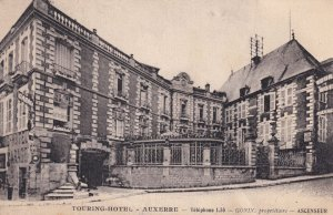 Touring Hotel Auxerre Old Postcard
