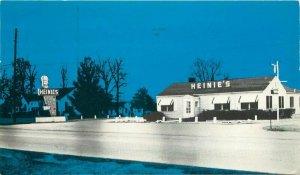 Arkansas Heine's Steak House Roadside Postcard Calvert Mcbride Printing 12446