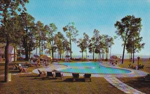 Hotel Motel des Laurentides, Swimming Pool, BEAUPORT, Quebec, Canada, 40-60s