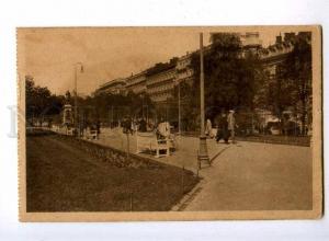 192625 FINLAND HELSINKI esplanade Vintage postcard