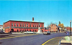 Rochester NH Street View Old Cars Postcard