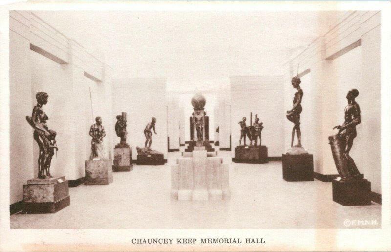 Vtg Postcard 1930s Field Museum Natural History Chicago - Chauncey Keep Unused
