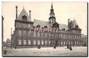 Reims Postcard Old City Hall