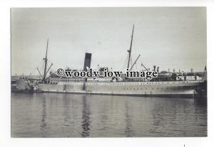 LN0571 - Union Castle Liner - Grantully Castle - postcard
